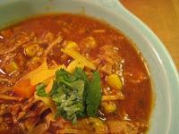 latin flavor meets italian papa al pomodoro soup