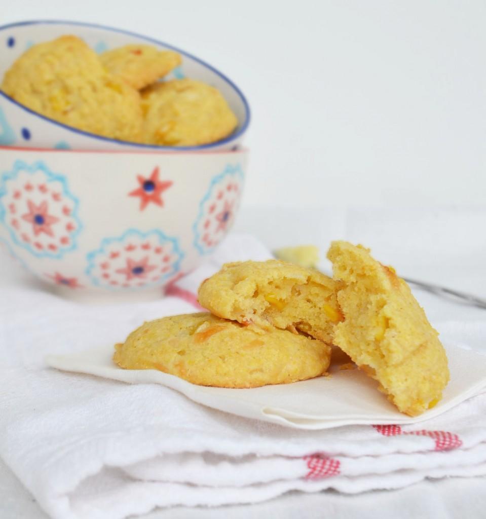 bye, bye boring cornbread … Hello, hottie cornbread scones