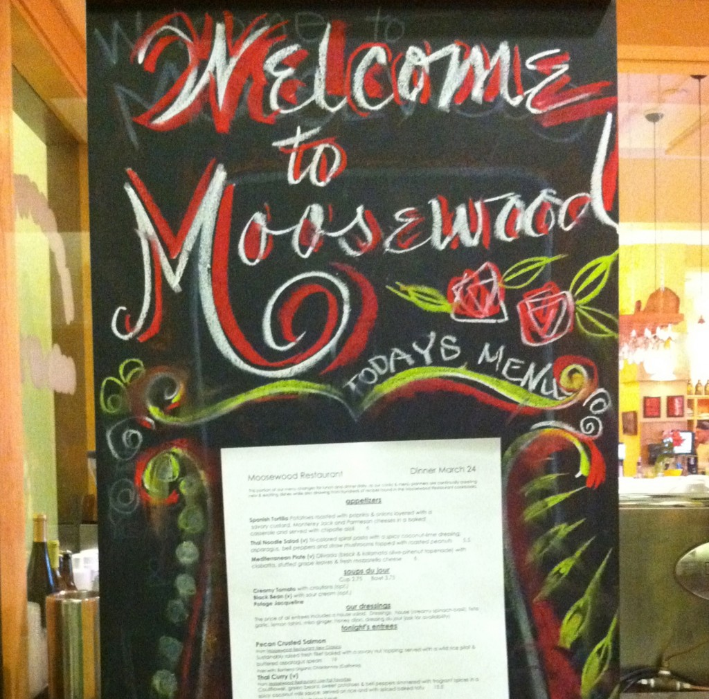 finger lakes part 1: moosewood, used books & wine