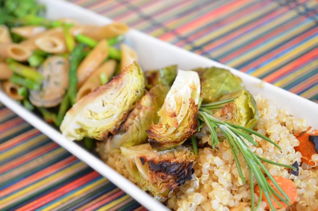 seasonal veggies 3 ways