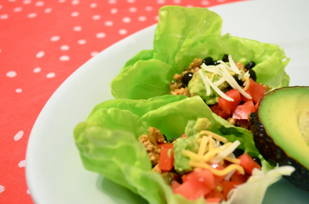quick & easy low cal, gluten free tacos
