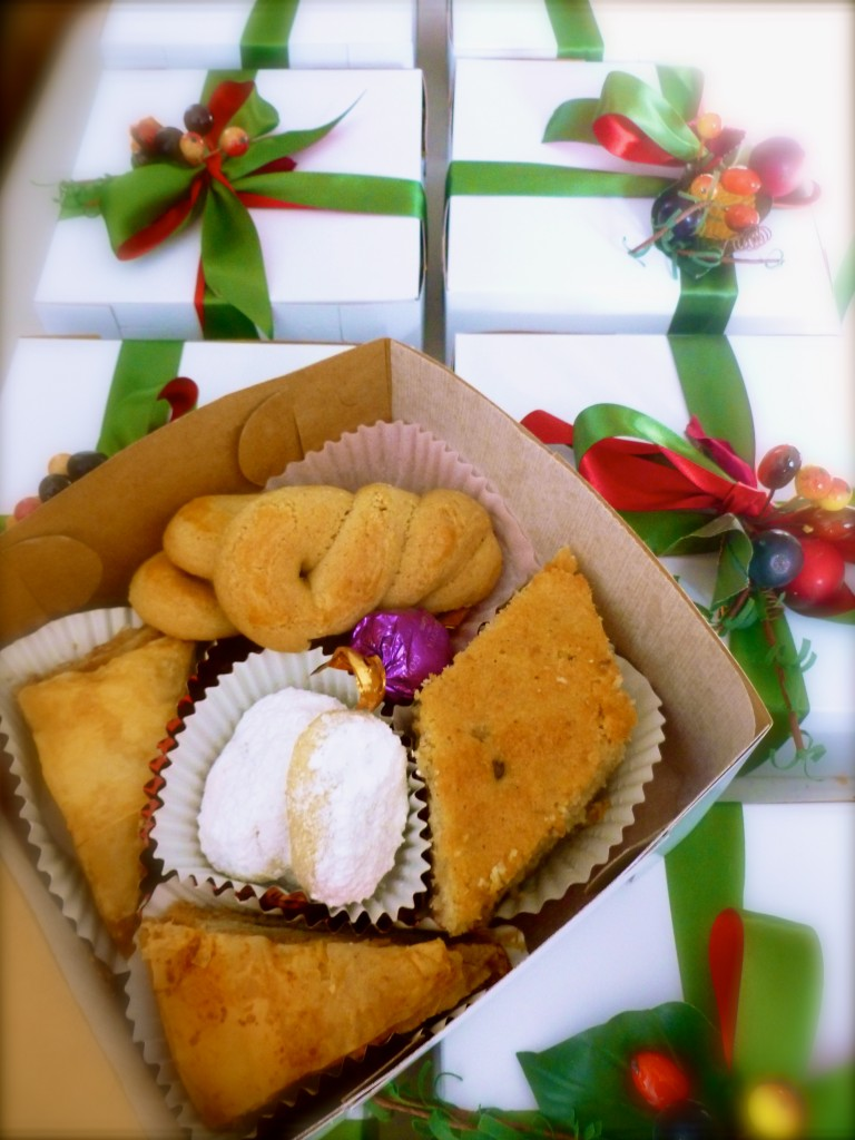 order your Greek Sweets gift boxes!