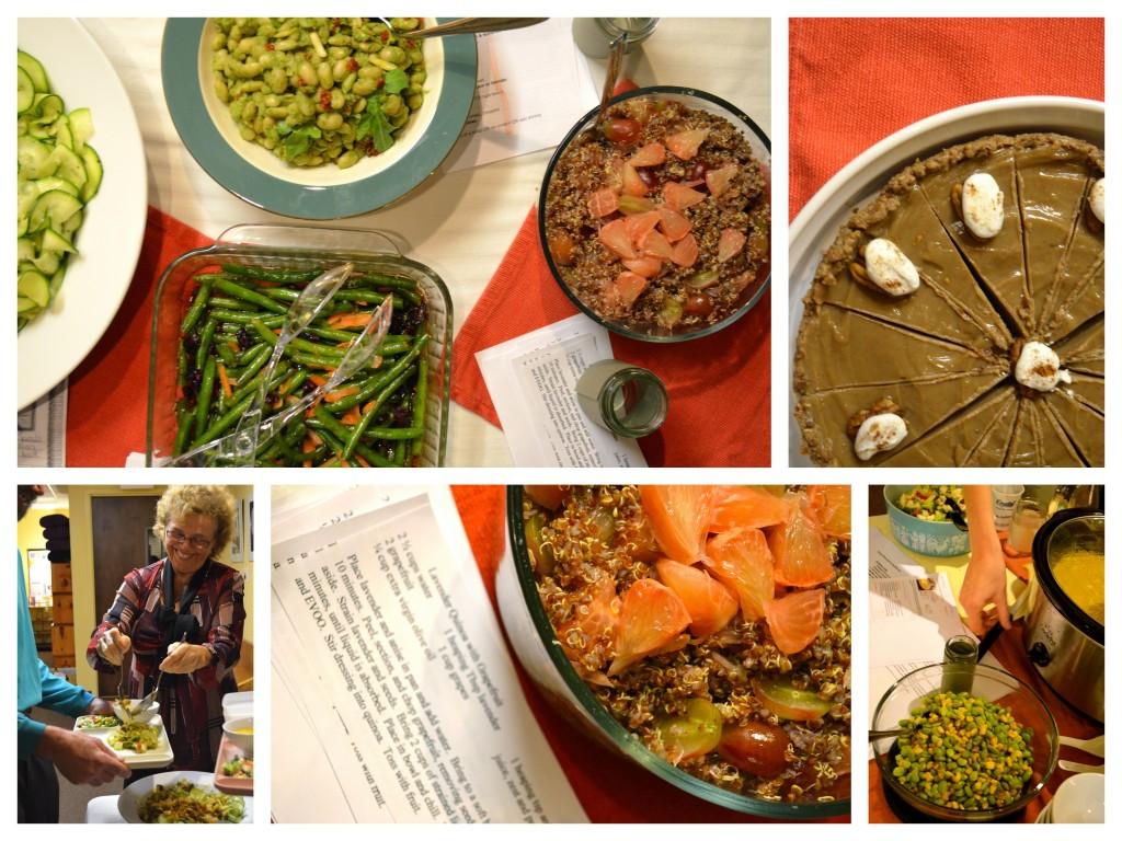 11.2 pure food soirée: recipes