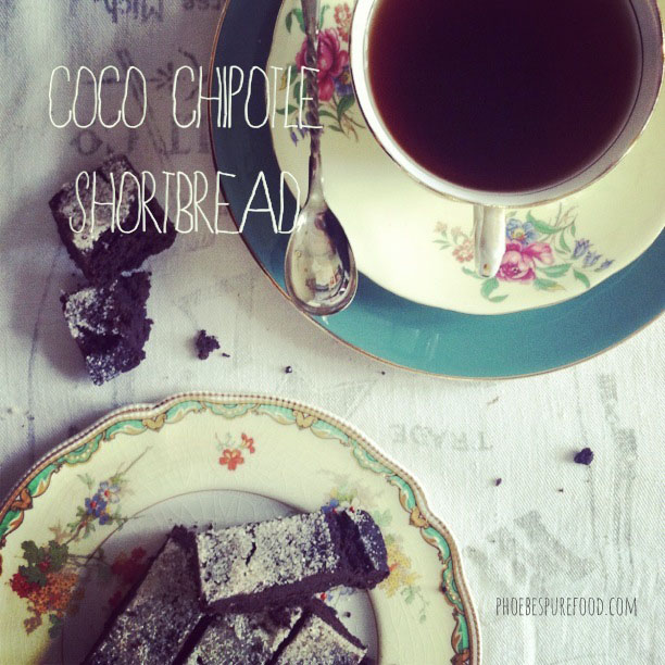 coco chipotle shortbread bar cookie