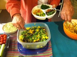 winning recipes from June's soirée