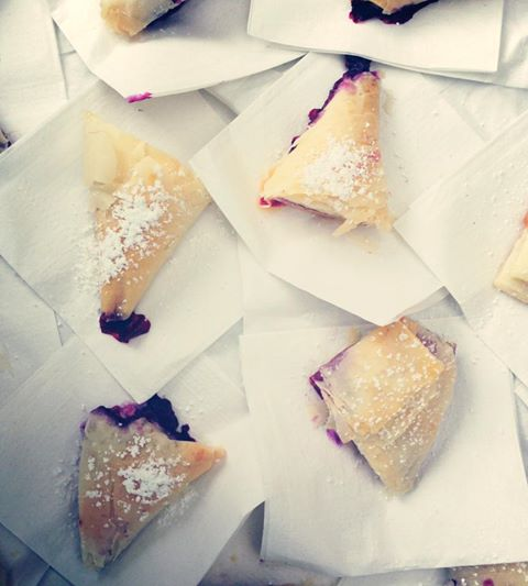 phoebes pure food blueberry cream cheese hand pies