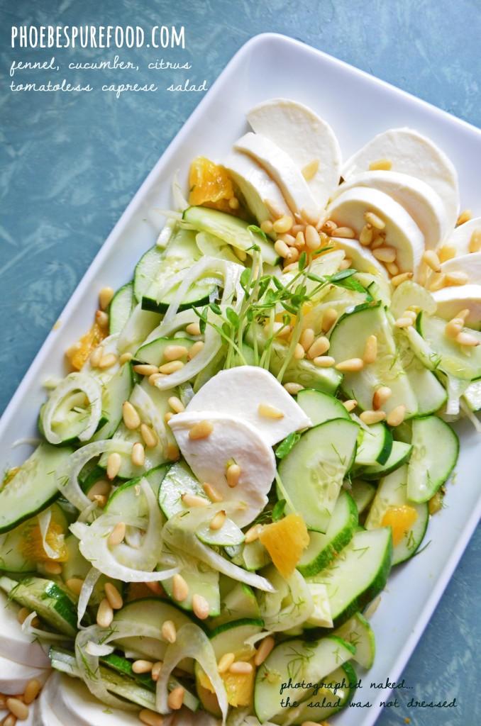 food fennel salad phoebes pure food