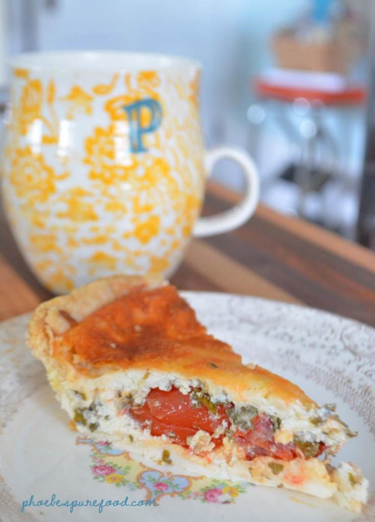 food tomato pie phoebes pure food