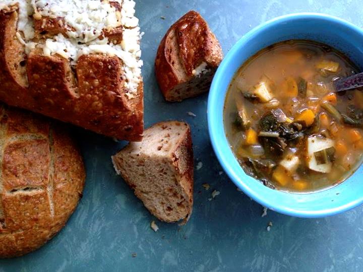 phoebes pure food dandelion soup