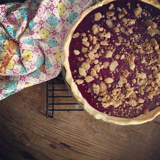 phoebes pure food raspberry pie