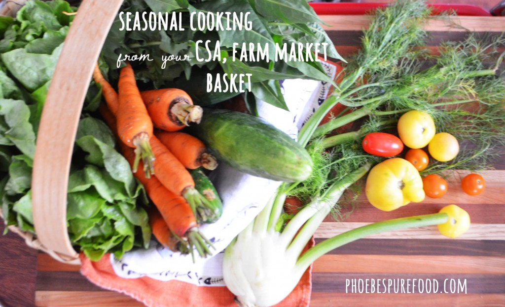 eating locally & in season