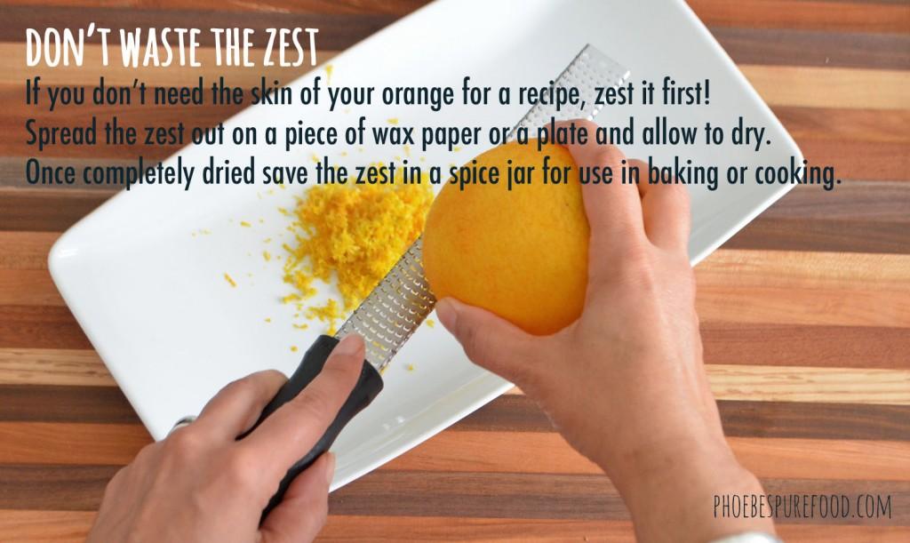 food zest tip phoebes pure food