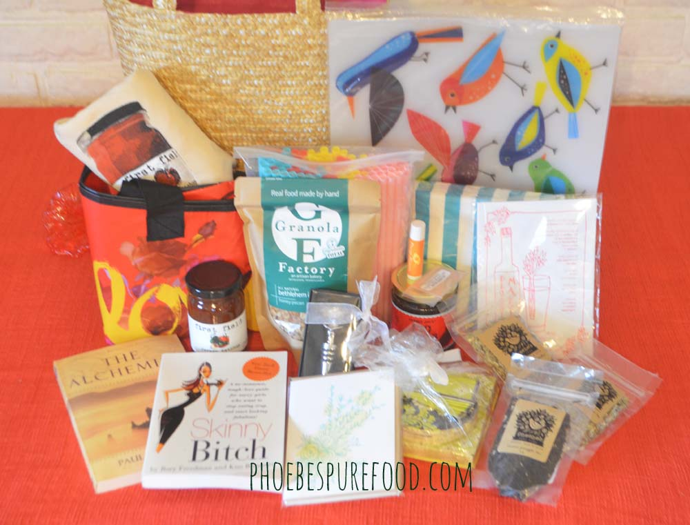 phoebes pure food last giveaway