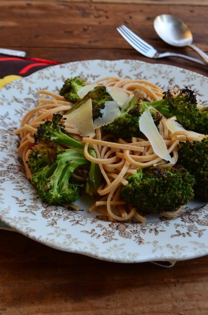 phoebes pure food roasted broccoli