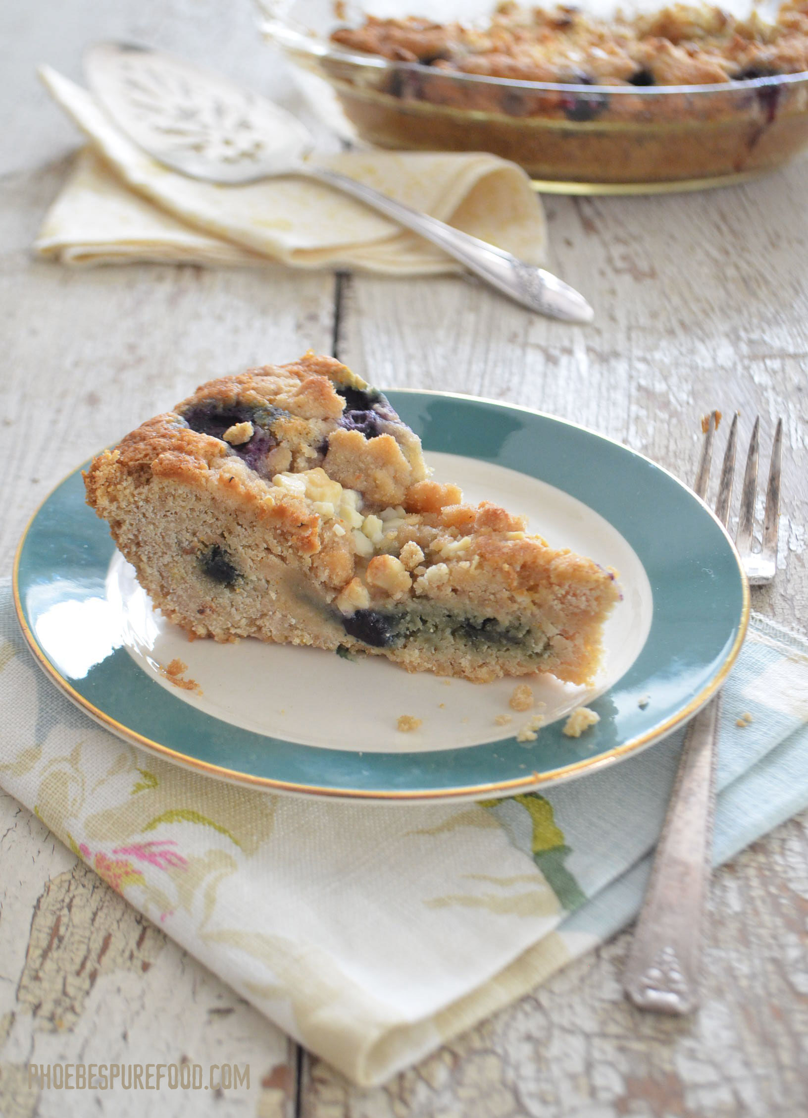 Blueberry Pancake Mix Coffee Cake
