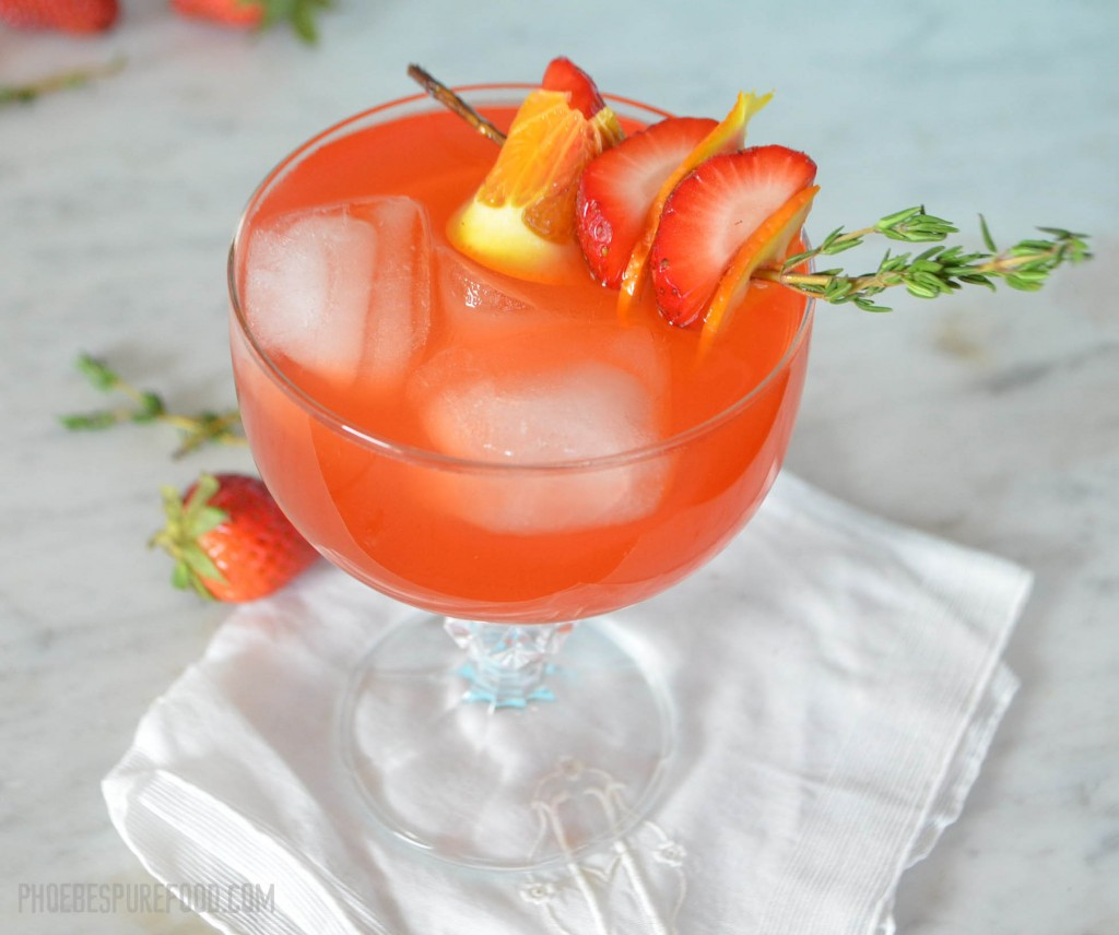 strawberry margarita phoebes pure food 2