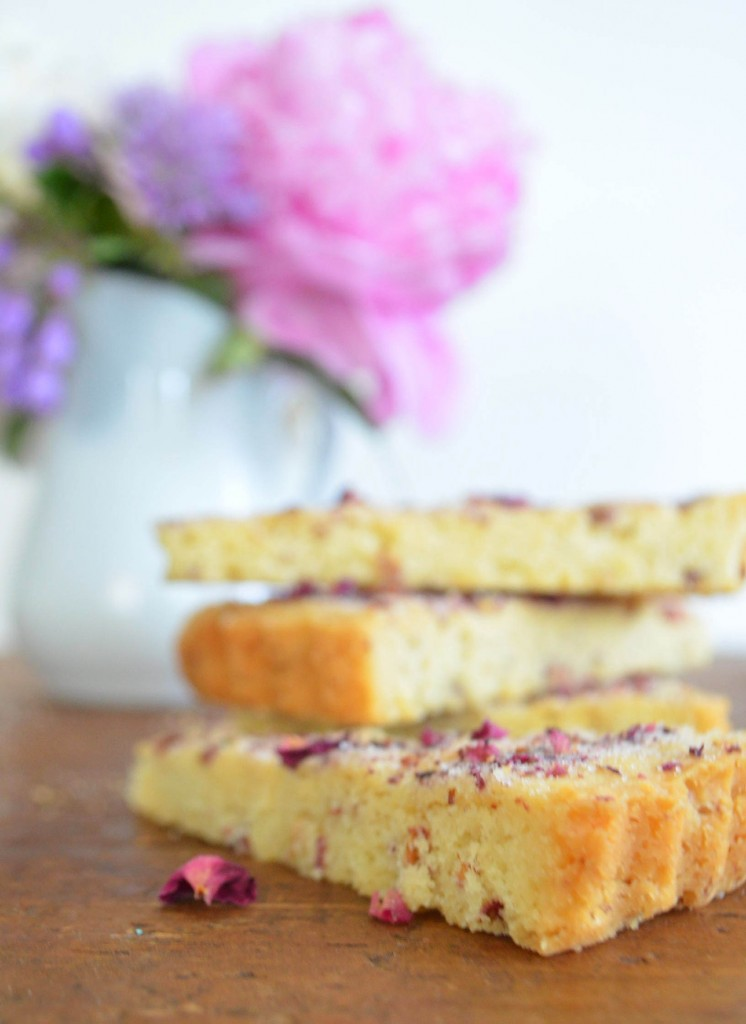 rose shortbread phoebes pure food