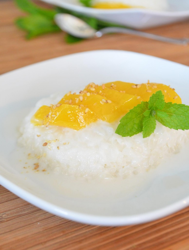 coconut mango sticky rice 1