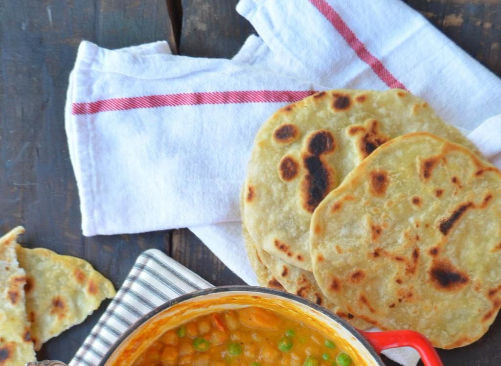 curry roti wrap phoebes pure food