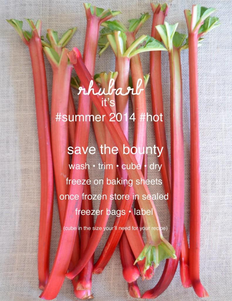 preserve rhubarb