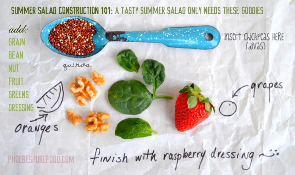 summer salad construction 101