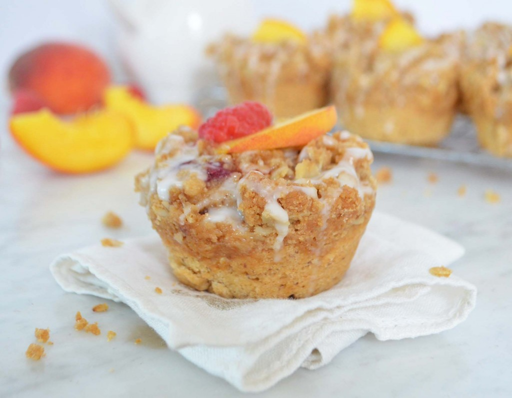 peach crumb muffin 2 phoebes pure food