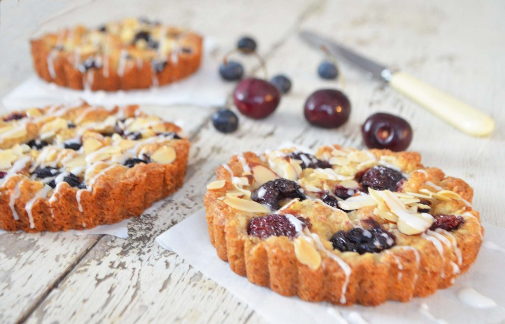 warm cherry tart pheobes pure food