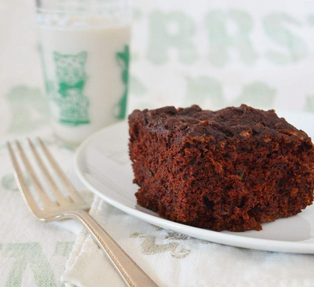 chocolate zucchini cake phoebes pure food 1