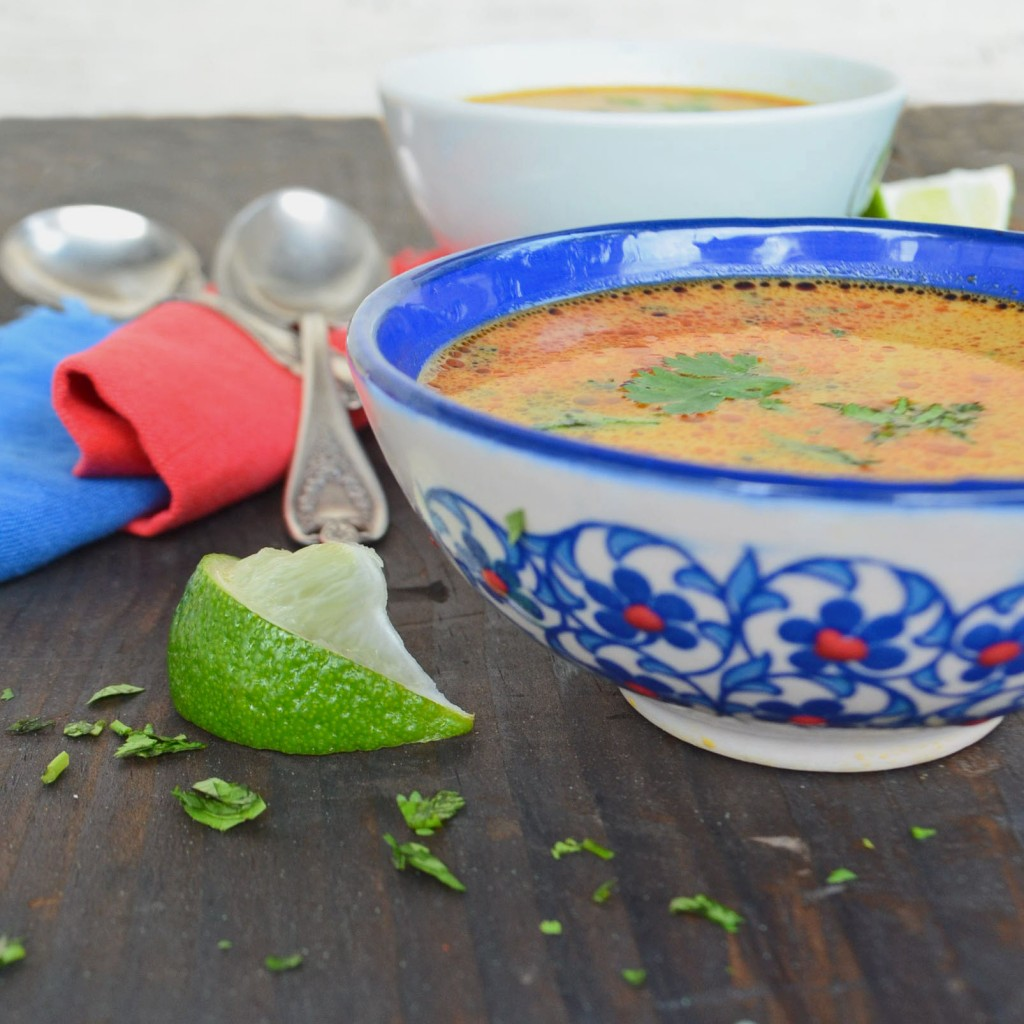 lemongrass coconut curry soup