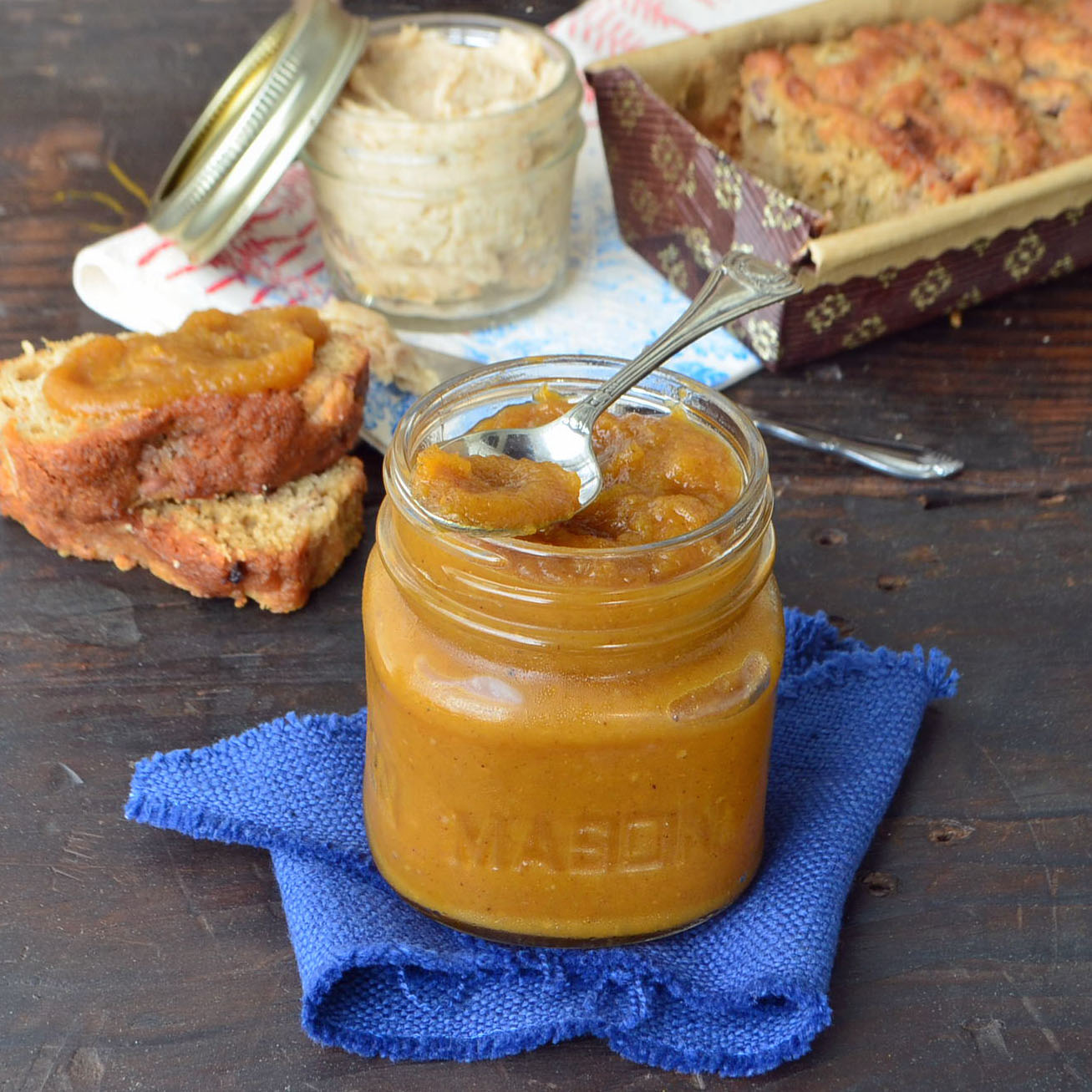 whiskey maple pumpkin butter - phoebe's pure food