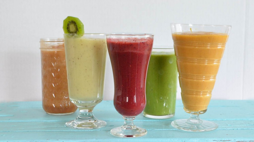 restorative detox smoothies