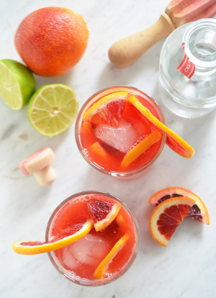 blood orange gin & tonic recipe