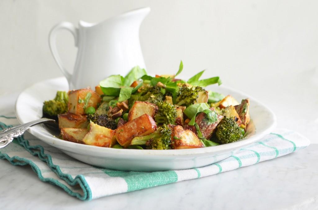 green roasted potato salad phoebes pure food 1 horizontal