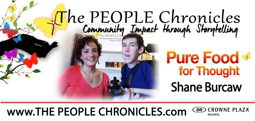 pure food for thought. the people chronicles. shane