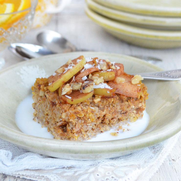 Phoebe Pure Food apple baked oatmeal