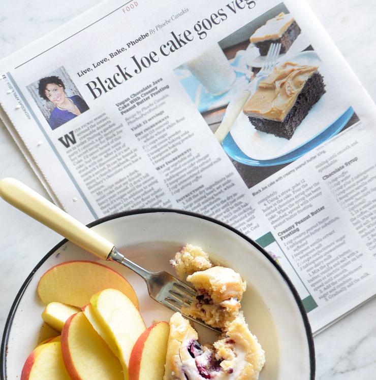 black joe cake goes vegan