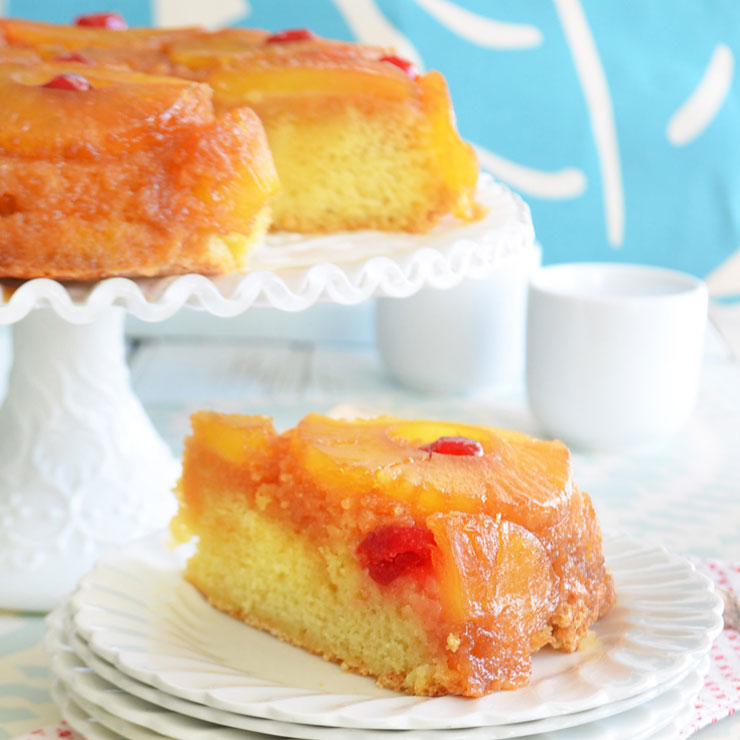 happy pineapple upside-down cake day