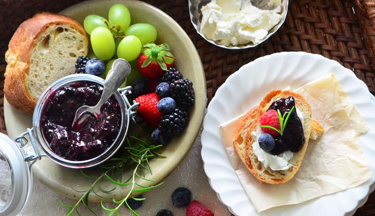 blueberry chutney phoebes pure food