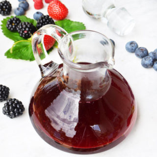 raspberry shrub syrup phoebes-pure-food