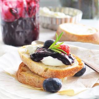 blueberry chutney phoebes pure food 1