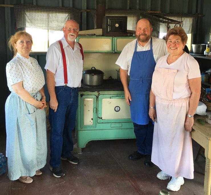 volunteers at the Kutztown Folk Festival's Summer Kitchen