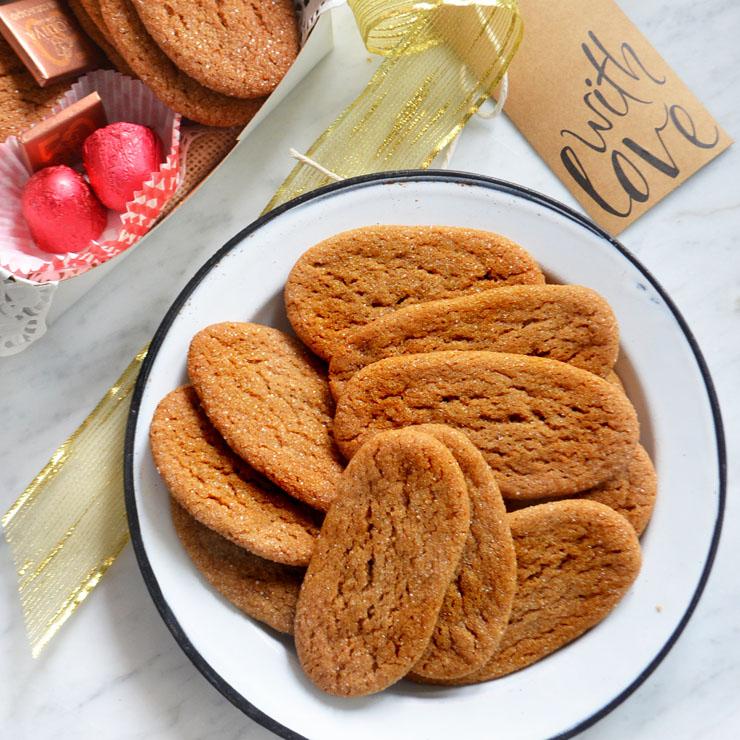 ox tongue cookies