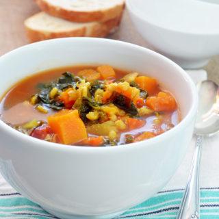 barley squash soup phoebes pure food