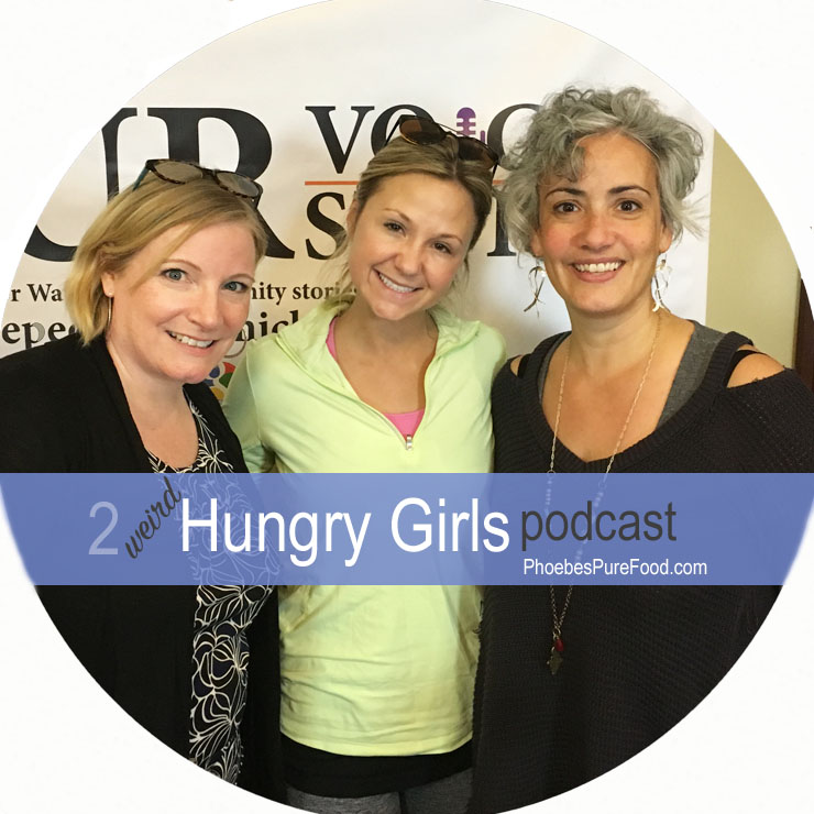 feel good eating and gleaning podcast